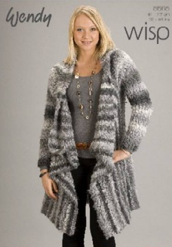 ad72f8792d1aa6   Long Wrap Jacket Pattern in Wisp 5565. Reference  WE5565 Price   7.39  (excluding GST) Stock  2